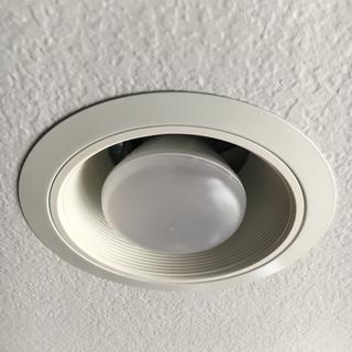 With dimmable LED bulb