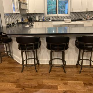 These stools are very easy to clean.