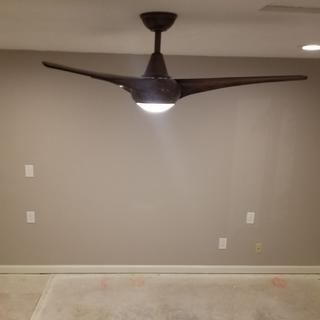 New Master Bedroom Fan.