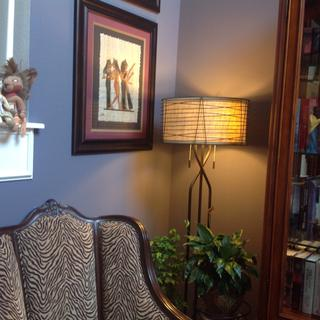 Marlowe Woven Bronze Metal Floor Lamp 4g489 Lamps Plus