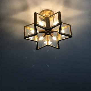 Love this ceiling light!! Shines star on ceiling too!! ??