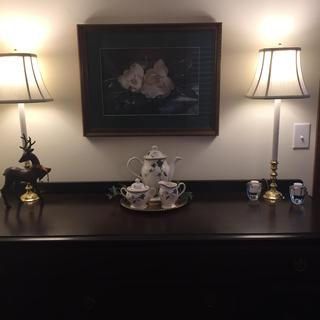 Candlestick Lamps are perfect for my buffet!