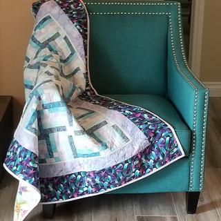Accent chair with accents.
