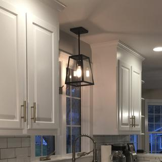 A great pendant light that makes our kitchen feel perfect!