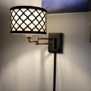 I am very pleased that the Lamps Plus associate suggested a pair of these wall lamps for my den.