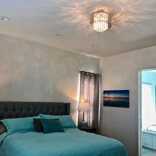Glamour in Master Bedroom