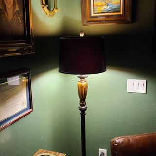 Great library lamp.