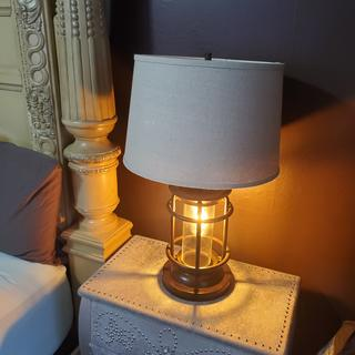 Sturdy with lots of illumination and the night light is definitely a plus.
