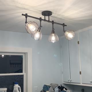 Just a perfect way to light up a drab laundry room!