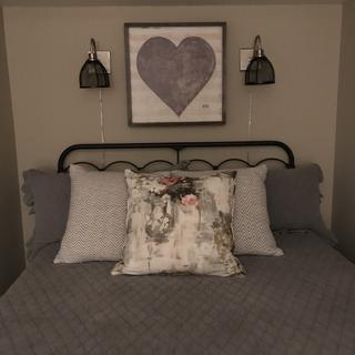 Perfect when there isn't room for a nightstand in your guest room!!!