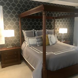 Great bedroom lamps.