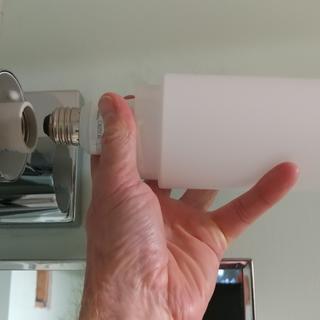 Using standard A series LED bulb