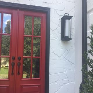 Perfect size for double doors