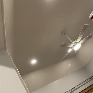 Love our new fan, perfect lighting and coolness!