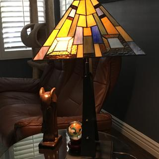 This lamp is just really beautiful.   Well done Lamps Plus.