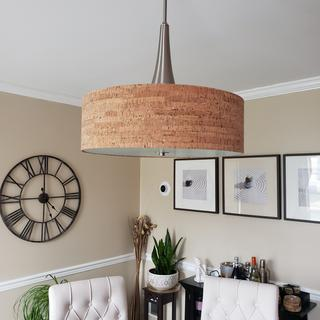 Beautiful lamp and it fits right in with our decor.