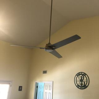 Nice LED ceiling fan in my master bedroom.