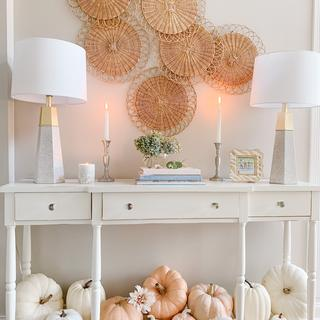 I love the style of these lamps and you can;'t beat the price!