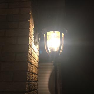 Front porch light.
