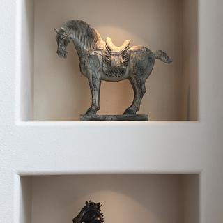 Beautifully finished horse
