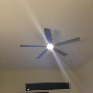 Installed fan