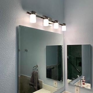 Installed Mirror.