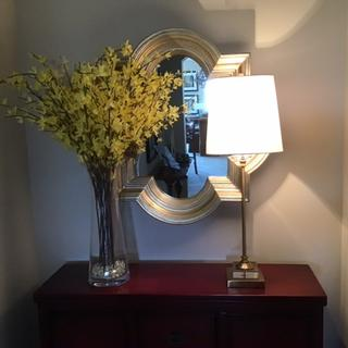Love this lamp in my foyer! Just what I was looking for!