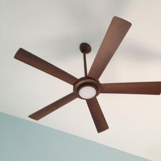 Ceiling fan in our new master bedroom