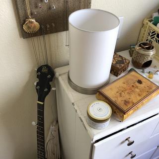 Lamp on dresser