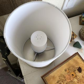 Lamp inside from above