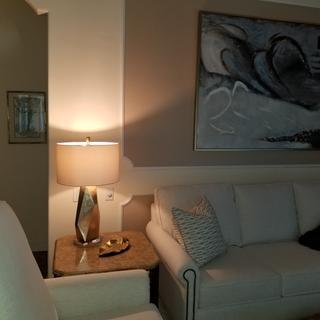 Family room lamp