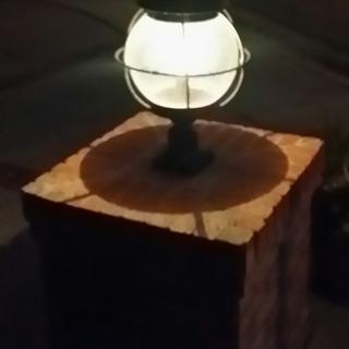 Perfect front porch post lantern bulb