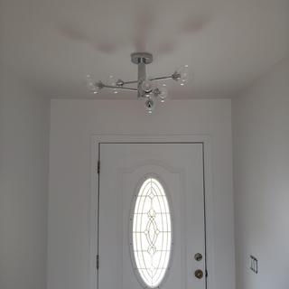 Quoizel Spellbound 6 Light Sputnik Ceiling Lightt