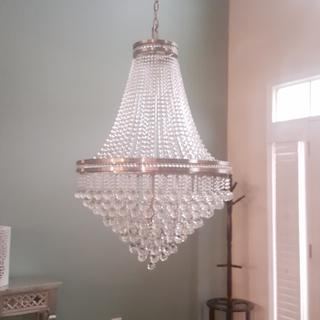 Loved this chandelier