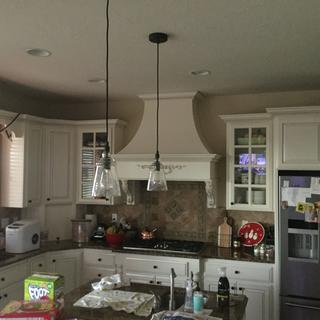 I love these pendants! They are the perfect combination of style and efficiency