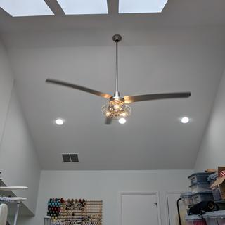 Edison bulbs are a little yellow (as they are) but a contrast with daylight white LEDs