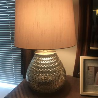 Love, love this lamp! It's beautifully made and has a touch of elegance to it!