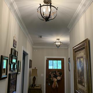 Great in foyer area