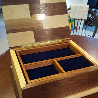Jewelry box for a granddaughter.