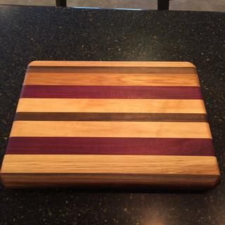 Love Mahoney's on cutting boards!