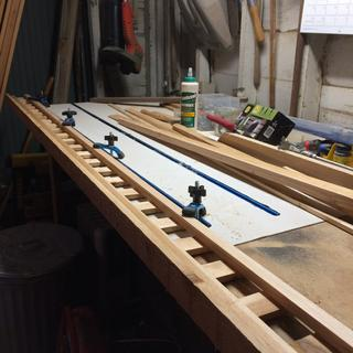Great addition multiple tracks save many clamps