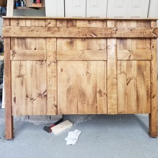 Made this headboard with the kreg jig