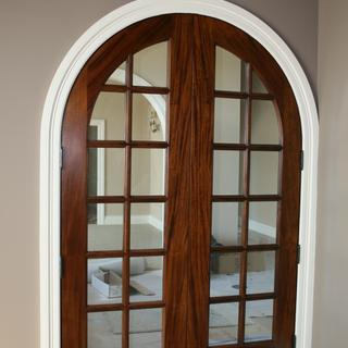 Honduran door completed and installed
