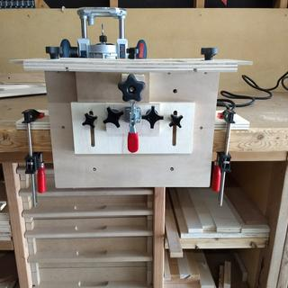 Shop made Router Mortising Jig
