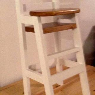 Larger doll high chair
