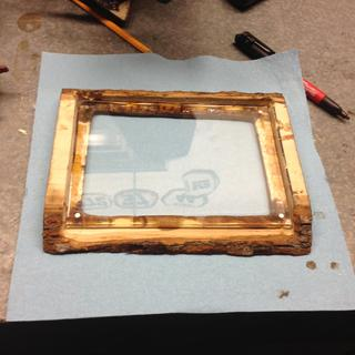 Frame layer in there beautifully