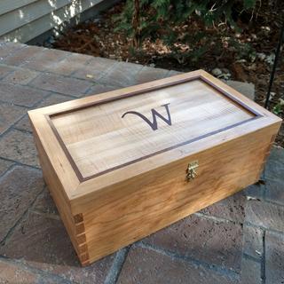 Wedding Box with hasp