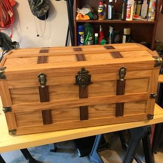 My Rockler steamer trunk
