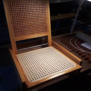 Folding canoe seat