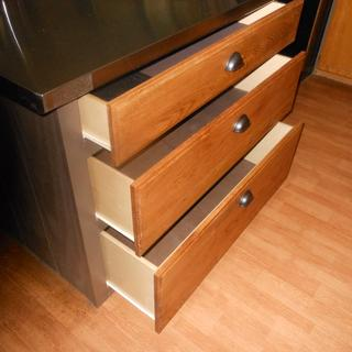 Made nice Pots & Pans Drawer Fronts for our Kitchen Island
